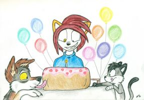 Lil' Jack's Party by wahyawolf