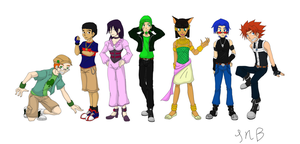 Soul Eater OC Chart Colored by DairuAnubis