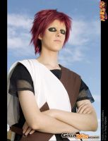 Gaara under the sky by OsirisMaru