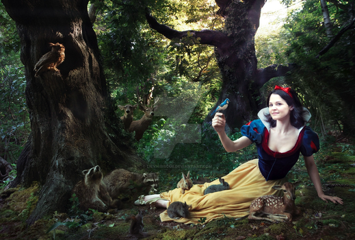 Snow white by LilyHibiscus