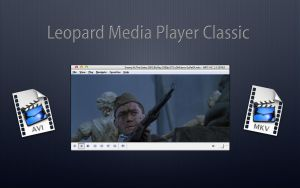 Media Player Classic Leopard by Mr-Ragnarok
