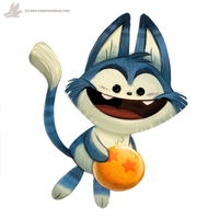 Daily Painting #865. Puar by Cryptid-Creations