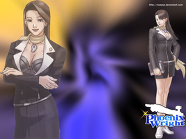 Wallpaper Mia Fey by Noeyop