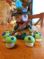 Teemo With Shrooms by Pupycat1