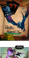 Winter Wyvern's Time by xofks12