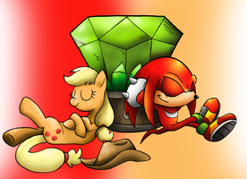 AppleKnux by SonicKnight007