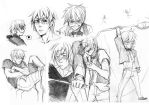 Shizuo sketches by Lapis-Razuri