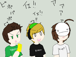 So uh I did this. XD by ChibiPewdie