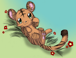 Little Tiger by Ambunny
