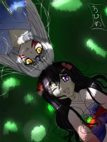 Under the Shade - YumexSess by ChiHime