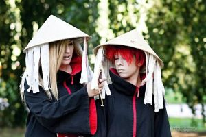 Deidara and Sasori time by YakuzaProduction