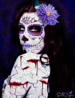 Day of the dead VIII by silcuper