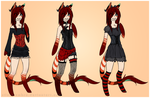[OC] Outfits ~ by silent-umbra