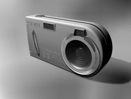 3D model of Sony DSC-P32 by paskoff