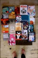 comics and zines i've enjoyed. by pommepourritte