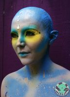 Fantasy Alien Makeup 2 by Face-Invaders