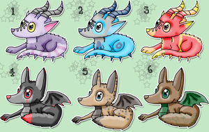 Canis Draco Adoptables CLOSED by Torotix