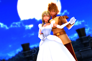 MMD KH - Make Love To Me - RoxNami by XxChocolatexHeartsxX