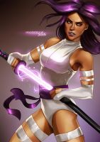 Psylocke by Arkenstellar