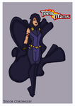 Teen Titans - Raven Redesign by Femmes-Fatales