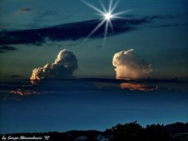 Two amazing clouds... by SanyaBelgrade