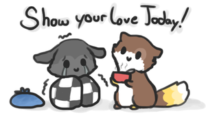 Show your love today! by Cushies