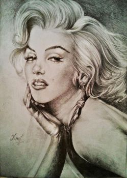 Marilyn Monroe by YohannaKim