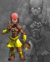 2744 Dhalsim SD by Spoon02