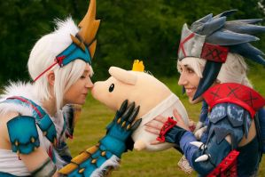 King Poogie Cuddles by GreenFoxStudio