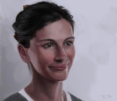 Julia Roberts sketch by tonyob