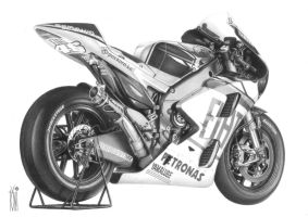 2010 Yamaha M1 by toniart57