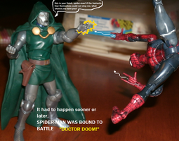 The Amazing Spider-Man VS. Dr. Doom! by TMNTFAN85