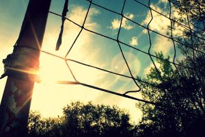 I Caught Your Sun In My Net by HowardPhotographics