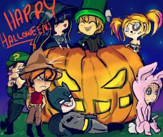 Happy Halloween from the Baddies by ForgetMorals