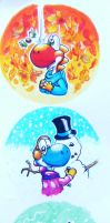 Yoshi - The four seasons by Jenbe