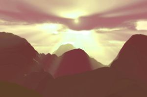 Beyond the Mountains by SaoirseRoisin