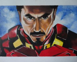 Tony Stark by UsagiTerrorist