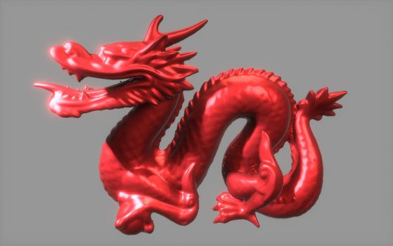 Dragon in real-time by codeinsane