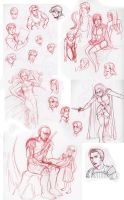 sketch dump omg glen keane by chronicdoodler