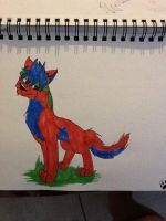 Drawing on paper 20 by Obsidianthewolf