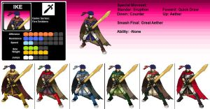 Ike Palette +others by Gego-Kurin