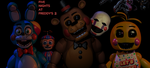 Five nights at Freddy's 2 Toy Wallpaper by Elsa-Shadow