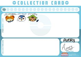 PKMNRainbow Collection Card: Avery by shaolinfan1