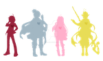 [20150401] Silhouettes [TMP] by ChibiSalLina