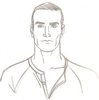 sketch inspired by Michael Fassbender. by faust40
