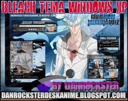 Grimmjow Jaegerjaquez Theme Windows XP by Danrockster