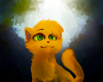Firepaw by Spottedfire-cat