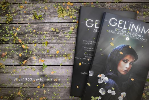 Gelin'im Book Cover Mock up by dilan1903