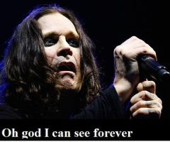 I Can See Forever Ozzy by katfishdaddy