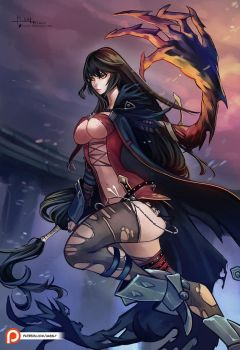 Velvet Crowe by Hassly
